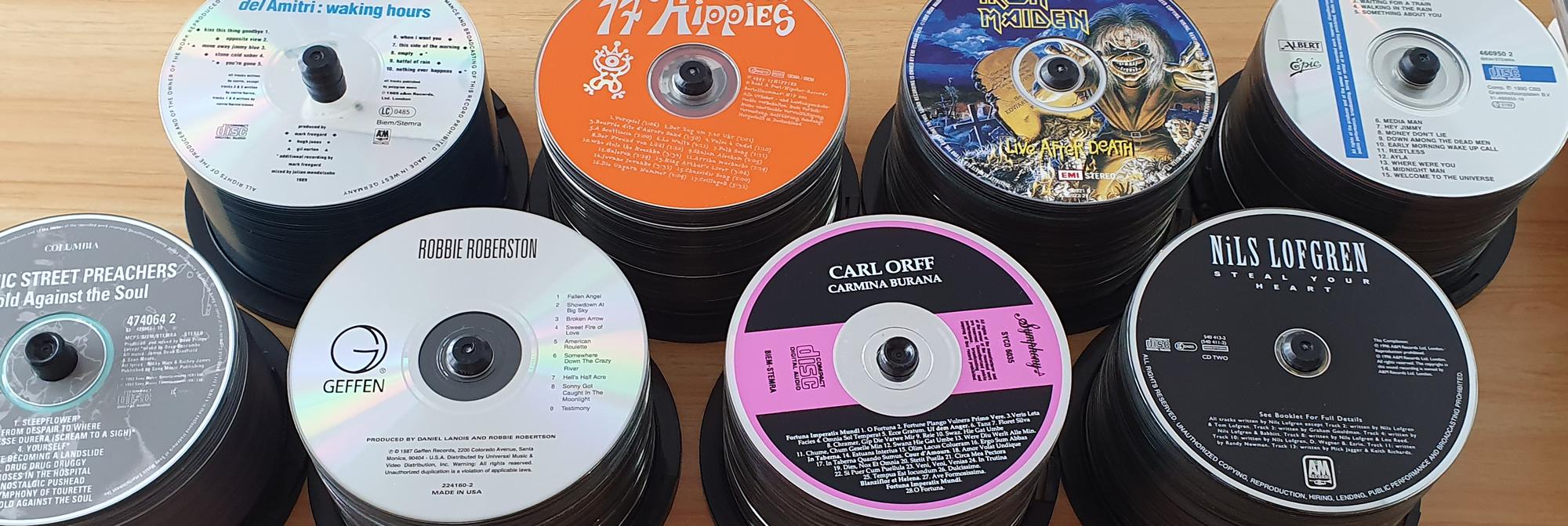 CDs rippen, CD-Sammlung einlesen